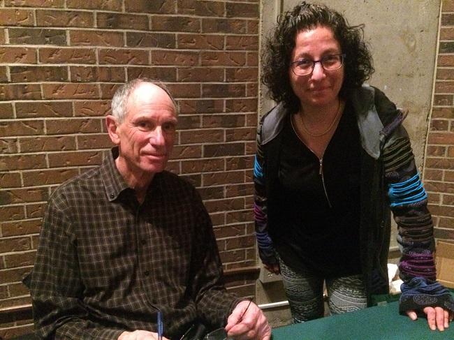 Joseph Goldstein & Sandra Bekhor at mindfulness retreat