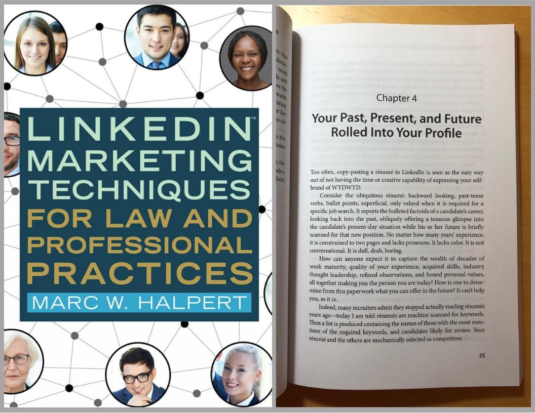 Marc W. Halpert LinkedIn for lawyers example