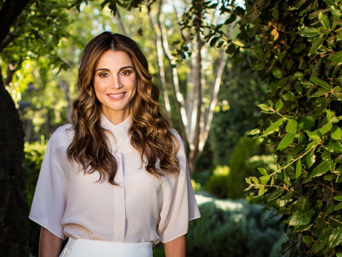 Queen Rania Al-Abdullah of Jordan, Queen Consort of Jordan