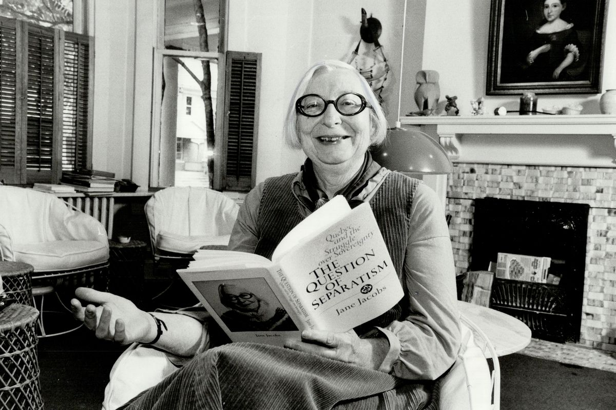 Jane Jacobs, Journalist, Author, and Activist
