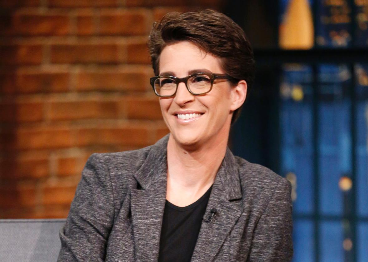 Rachel Maddow, Television Host and Liberal Political Commentator