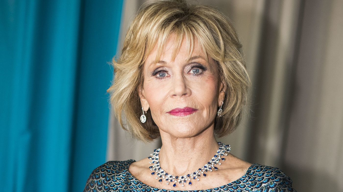 Jane Fonda, Actress, Writer, Producer, Political Activist, Fitness Guru, and Former Fashion Model