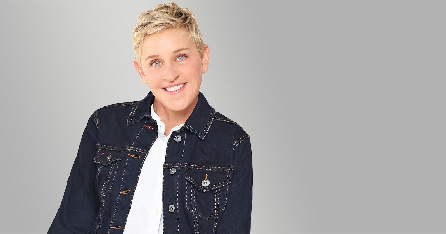 Ellen DeGeneres, Comedian, Television Host, Actress, Writer, and Producer