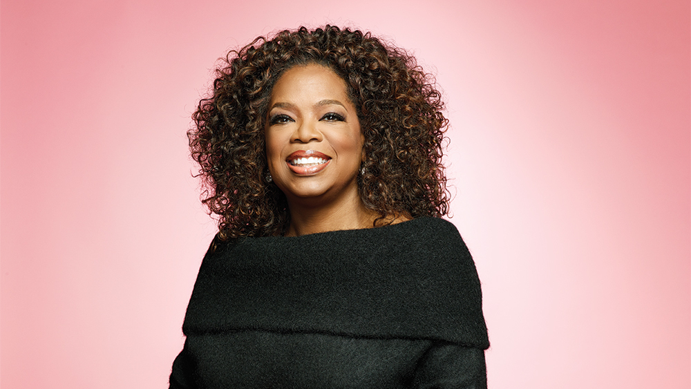 Oprah Winfrey, Media Executive, Actress, Talk Show Host, Television Producer, and Philanthropist