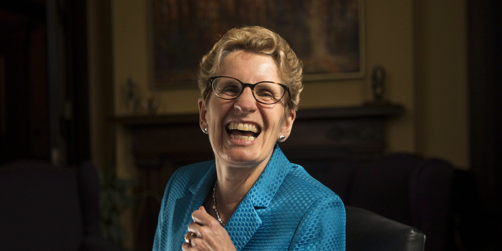 Kathleen Wynne, Politician (25th Premier of Ontario and Leader of the Ontario Liberal Party)
