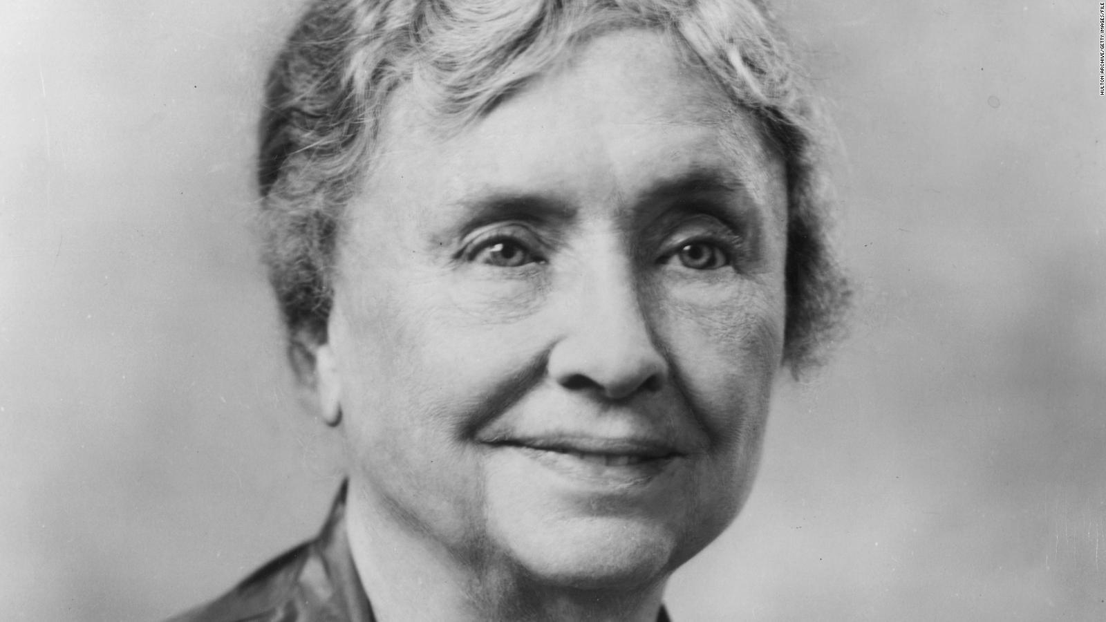 Helen Keller, Author, political activist, and lecturer