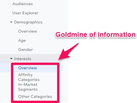 Analyzing Audience Data within Google Analytics